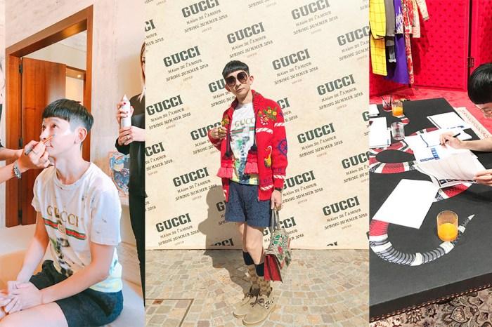 【精品】Gucci 2018 春夏米蘭時裝秀|Gucci Hub 訂購服裝過程