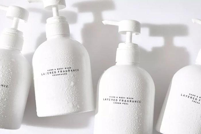 【香氛】日本冷淡極簡風 LAYERED FRAGRANCE 香氛潔膚露 洗完澡就像噴了香水持香一整天