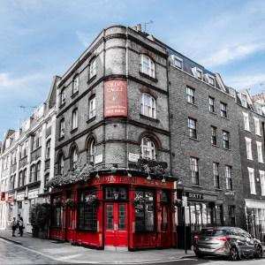 London Golden Eagle Pub City Street by Liyat G Haile Photography