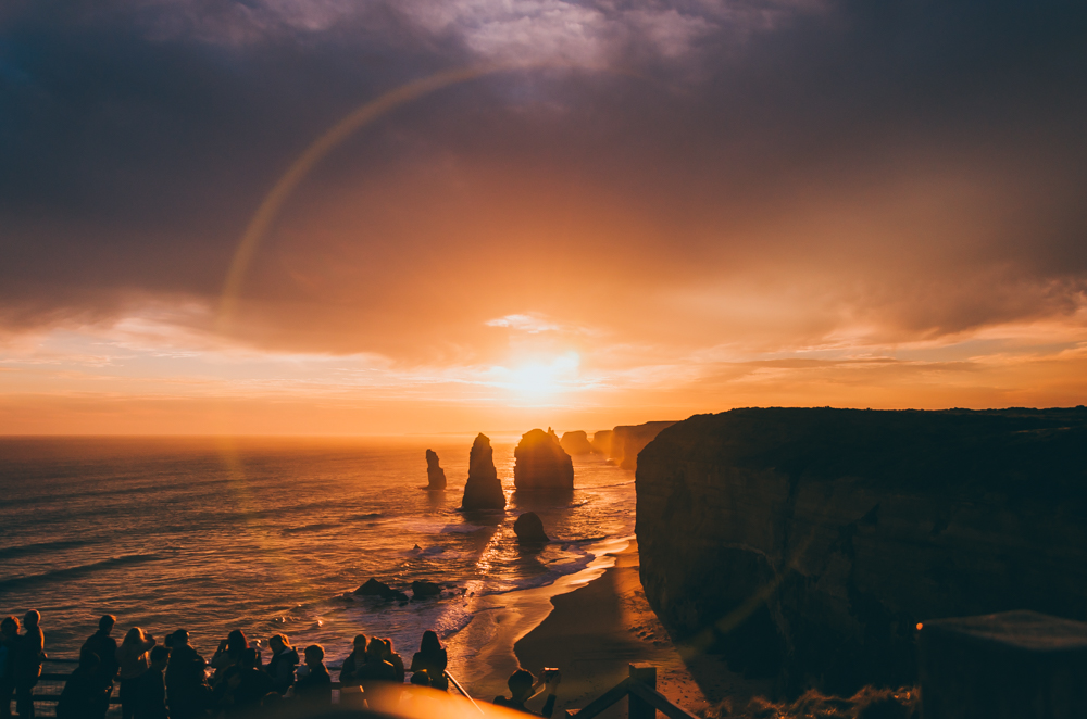 Twelve Apostles Sunset by Liyat G Haile Photography Melbourne Victoria Australia Great Ocean Road Landscape photo