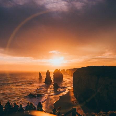 Twelve Apostles Sunset by Liyat G Haile Photography Melbourne Victoria Australia Great Ocean Road Landscape photo