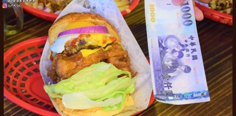 【台中美食】堡彪飢肉實驗室-比1000還厚的漢堡,台中超狂的漢堡,讓你吃的超爽快!