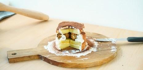 【料理】蛋糕,mini 迷你 料理篇第二十三彈-小小情人節蛋糕,建議大家還是去買比較快…
