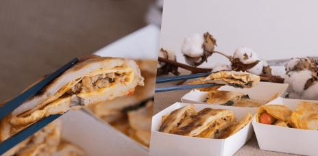 台中南屯區早餐推薦,從嘉義來的_古早味蛋餅,宜華蛋餅