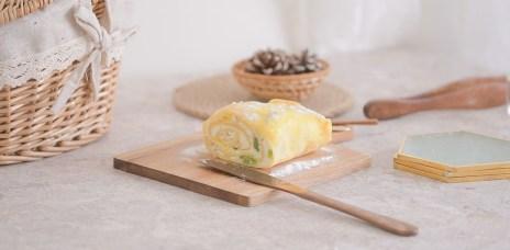 甜點食譜-平底鍋甜點毛巾捲,簡單上手好操作。