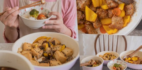素食宅配料理-素食料理包快速可上桌素食料理推薦-松珍生技