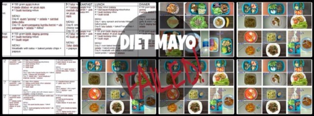 Diet Mayo yang Gagal