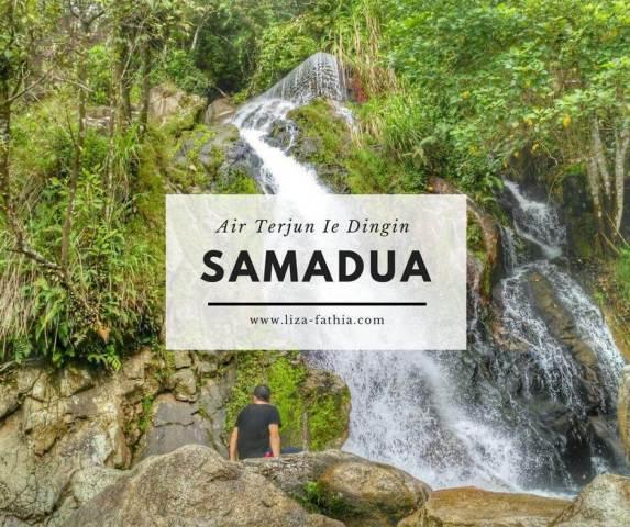 Ketika Air Terjun dan Lautan Saling Berhadapan di Samadua, Aceh Selatan