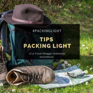 tips packing light