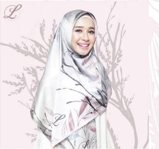 gaya hijab artis