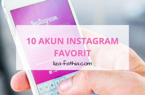 akun instagram favorit