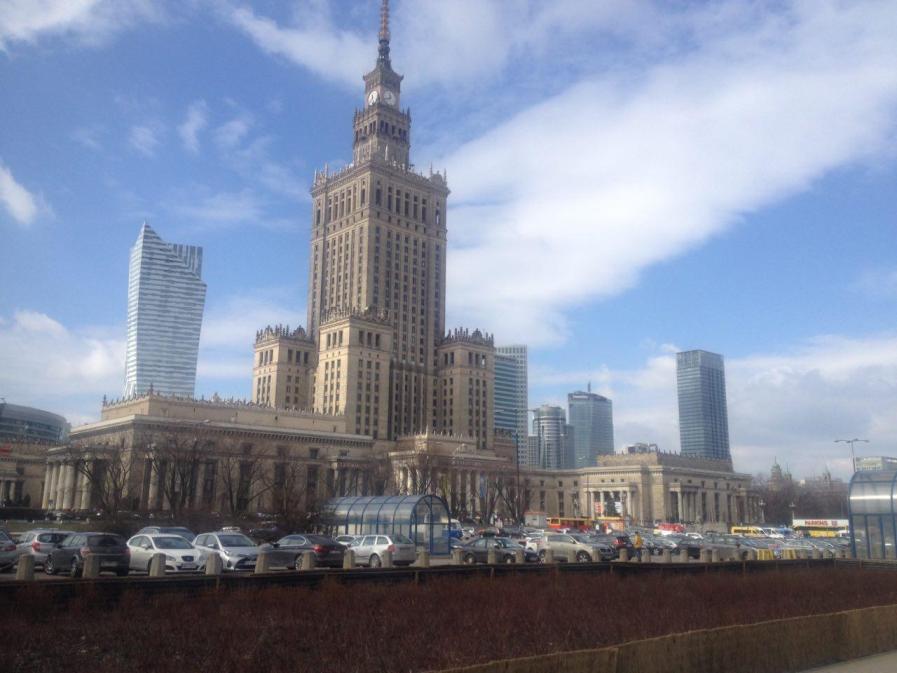 jalan-jalan ke Warsawa