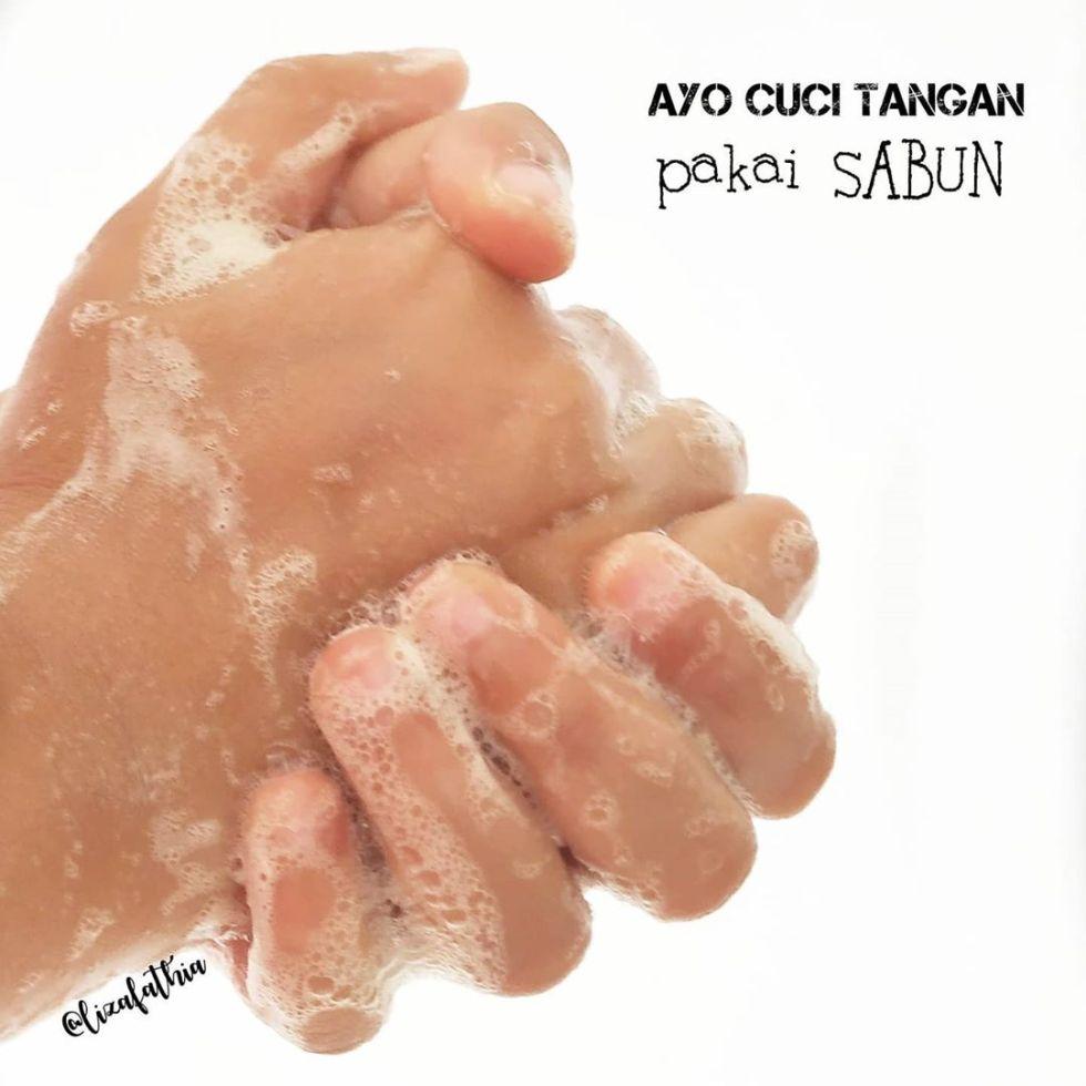cuci tangan pakai sabun