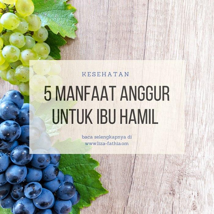 manfaat anggur untuk ibu hamil