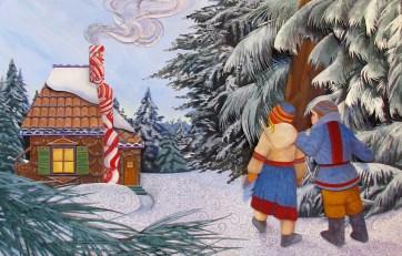 Elizabeth Goss, The Gingerbread House