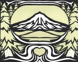 Elizabeth Goss, Mt Hood Love