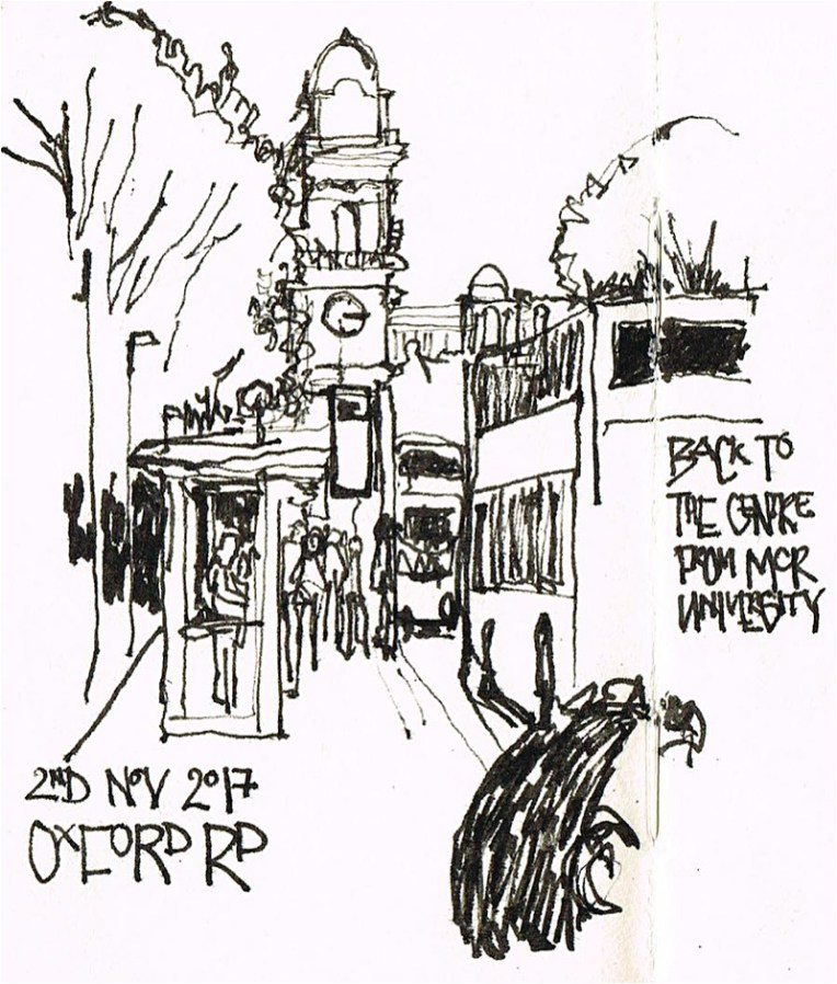 OxfordRoad PenandInk LizsScribbles