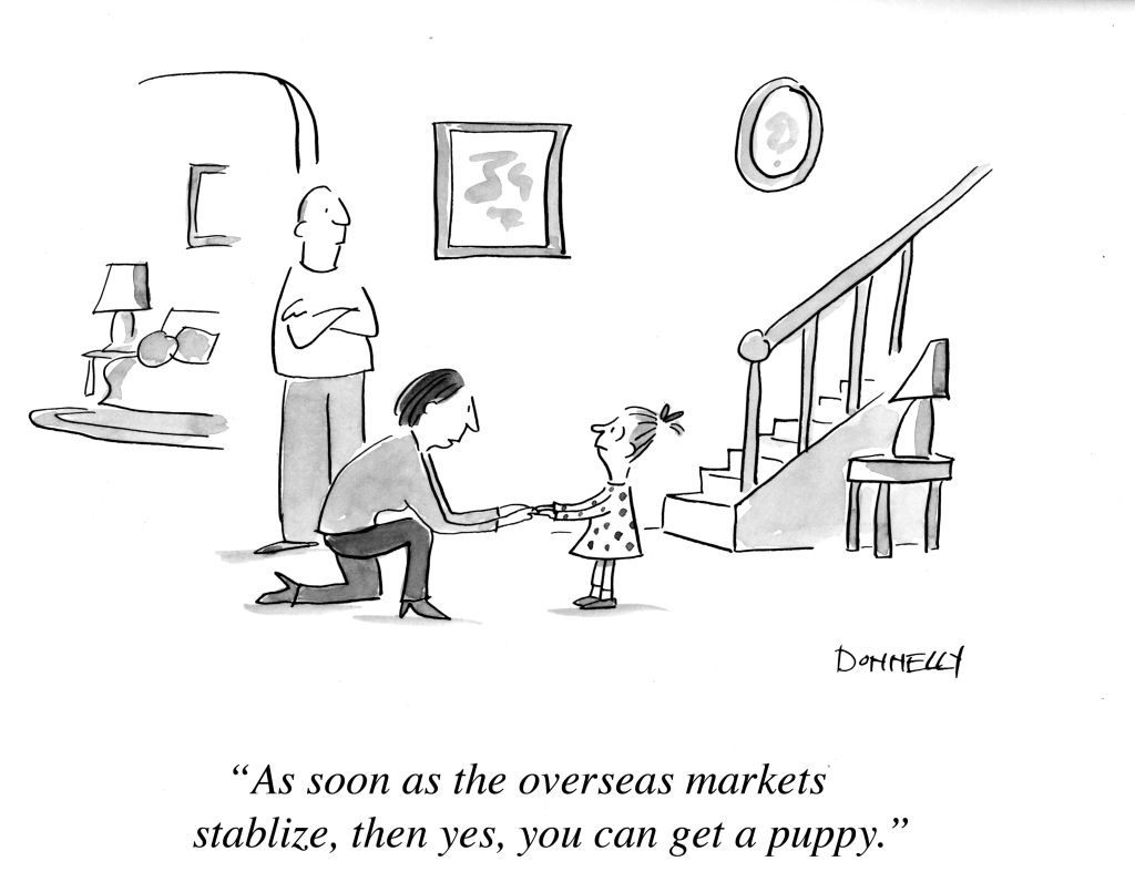 An Economy For The Dogs Liza Donnelly New Yorker