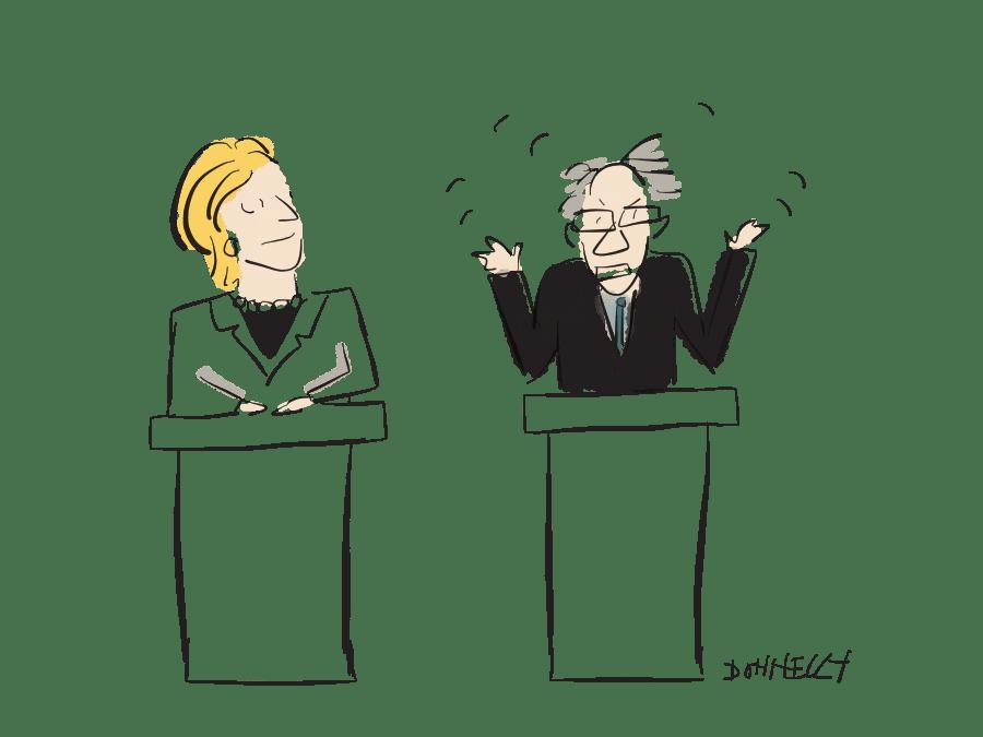Hillary And Bernie Do Brooklyn: Democratic Debate, April