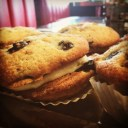 Blueberry Muffin Top Whoopie Pies