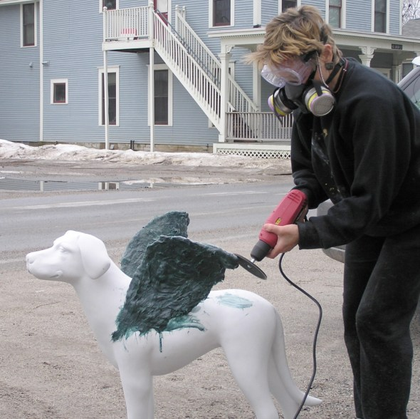 Bird dog & fiberglassJPG
