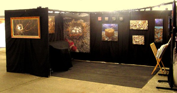 My Bellevue Artsfair Booth