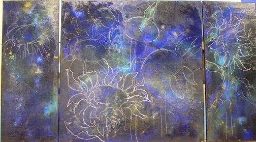 Sunflower-night-sky