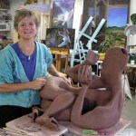 Liza in Granary Studio