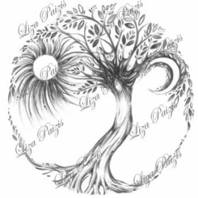 Tree of Life tattoo design liza paizis