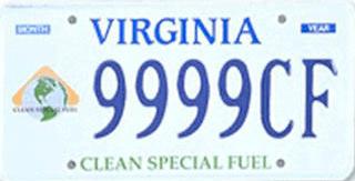 Virginia Clean Fuel Plate $10