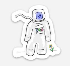 CosmoNOT sticker