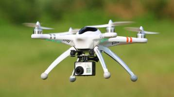 Drone with GoPro