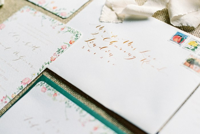 Fine Art Wedding Stationery Top Five | Liz Baker Fine Art Photography