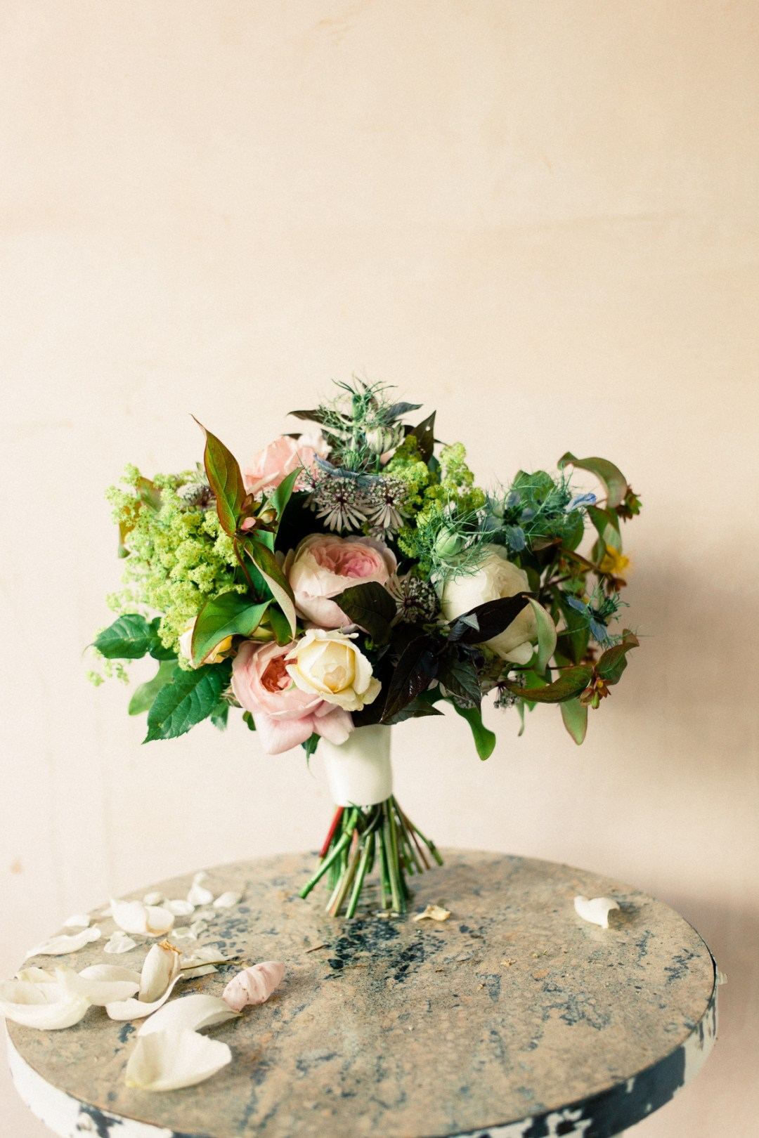 fine art wedding bouquet