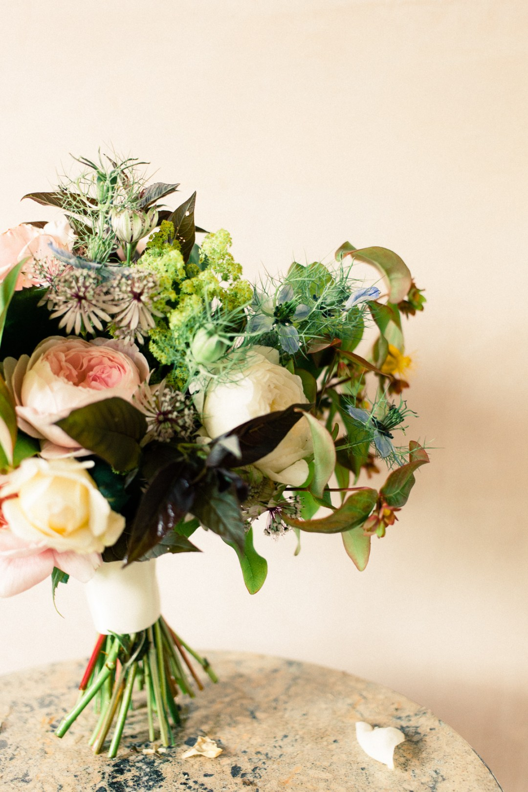fine art wedding bouquet