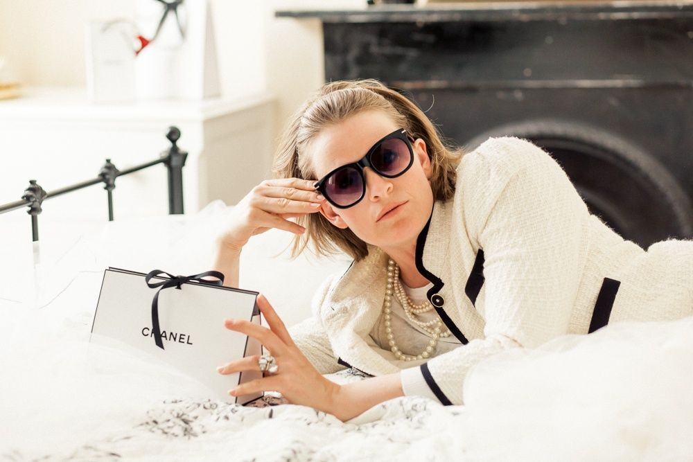 Chanel Inspired Lockdown