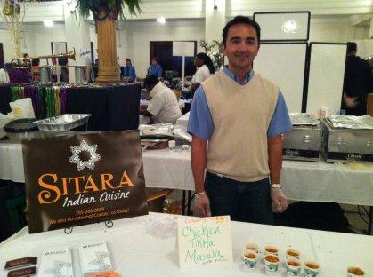 Rajeev at the 2012 Taste of Muncie