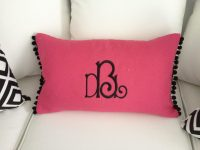 Hot Pink Black and White Office Decor