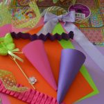 Diy Easter Candy Cone Favors Liz Bushong