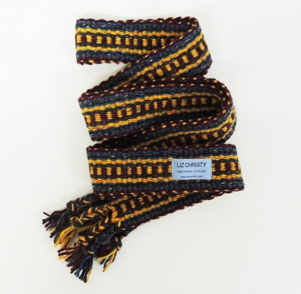 Christy Crios Yellow Navy & Maroon