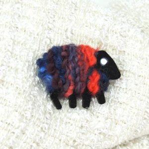 liz|christy|sheep|brooch|Abby