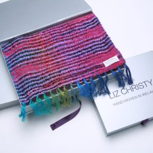boxed-irish-scarf-argenteuil-purple-desire