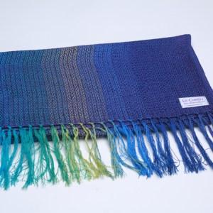 folded-cotton-scarf-lightweight-argenteuil-blue