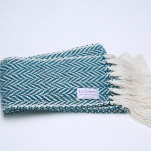 skinny-herringbone-irish-handwoven-scarf-teal