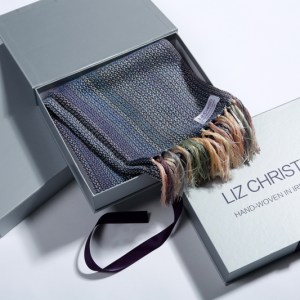 liz-christy-scarf-painter-of-light-kate-beagan-sapphire-boxed