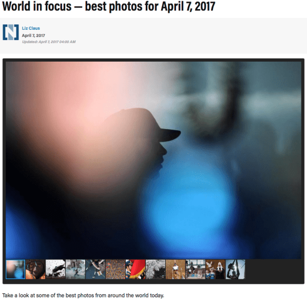 World in focus — best photos for April 7, 2017