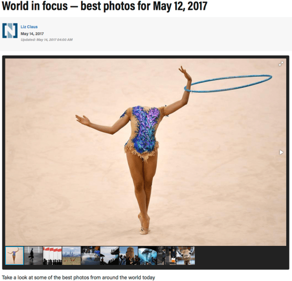 World in focus — best photos for May 12, 2017