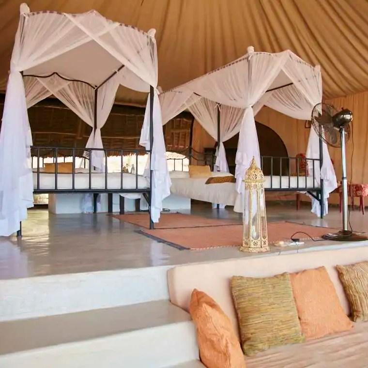 Bedroom Sasaab Lodge