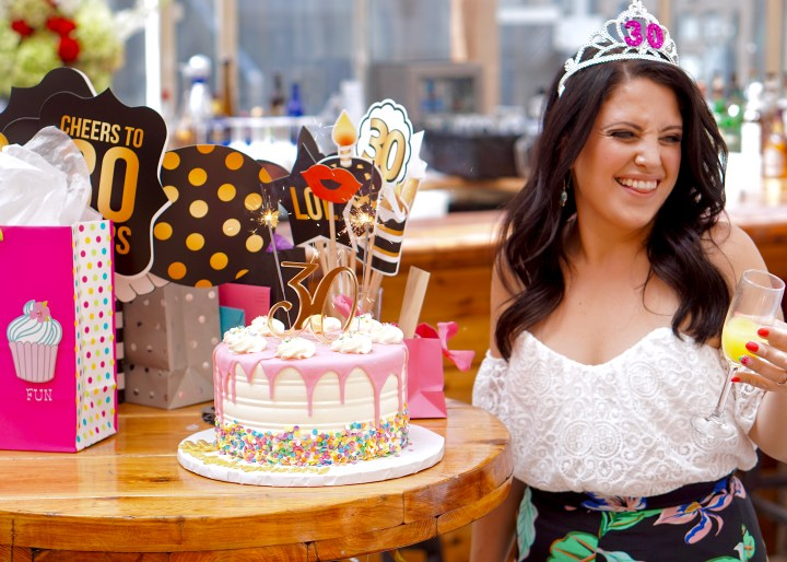 mimosas & palm trees: the ultimate boozy (30th!) birthday brunch at nyc's haven rooftop!
