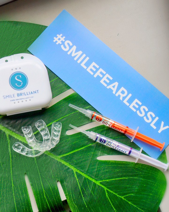 #smilefearlessly: affordable at-home teeth whitening with smile brilliant!